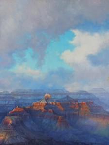 BACK Weathering the Canyon 30 x 40, Amery Bohling