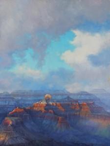 BACK Weathering the Canyon 30 x 40, Amery Bohling