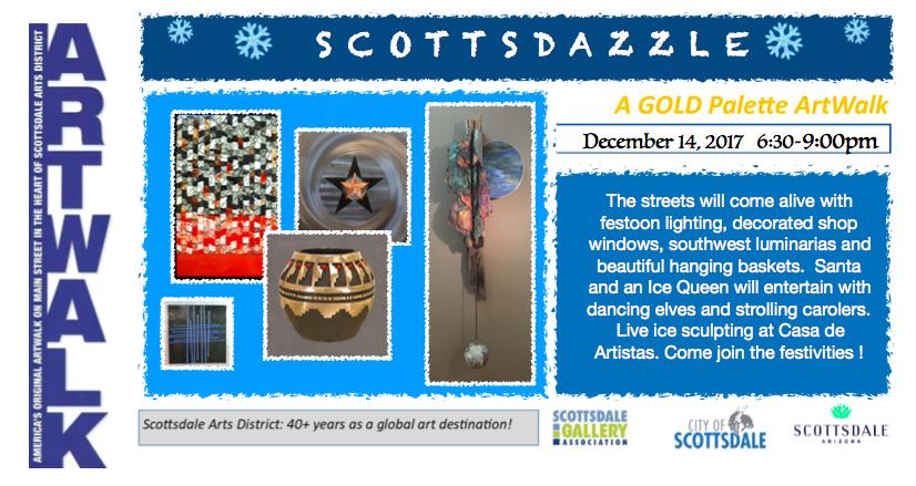 2017 December Gold Palette ArtWalk
