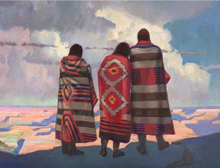 Gold Palette ArtWalk, March, 2018: Native Spirit