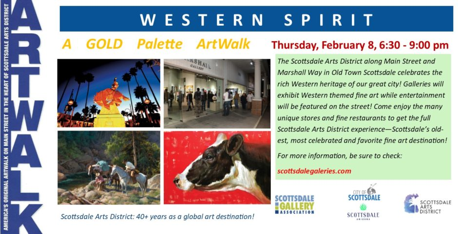 Western Spirit Gold Palette ArtWalk